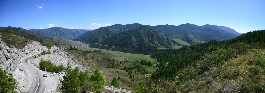 панорама Перевал Чике - Таман