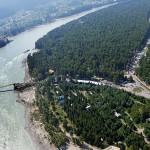 Полет на дельтаплане над Катунью и озером Ая