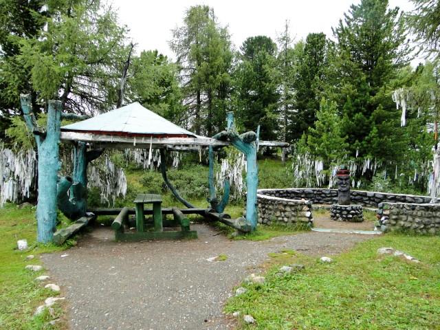Улаганский перевал и озеро Сарыачик
