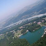 озеро ая с вертолета