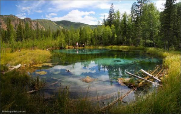 Гейзеровое озеро алтай - 340bd