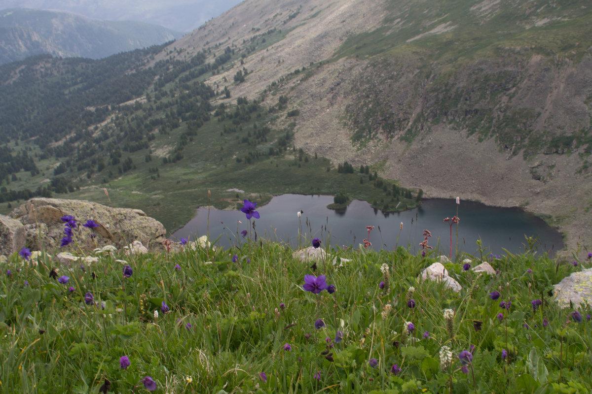 Горное озеро Манас