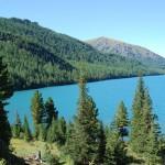 Нижнее мультинское озеро.