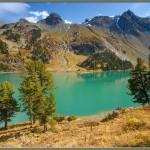 Озеро Верхнее Мультинское.