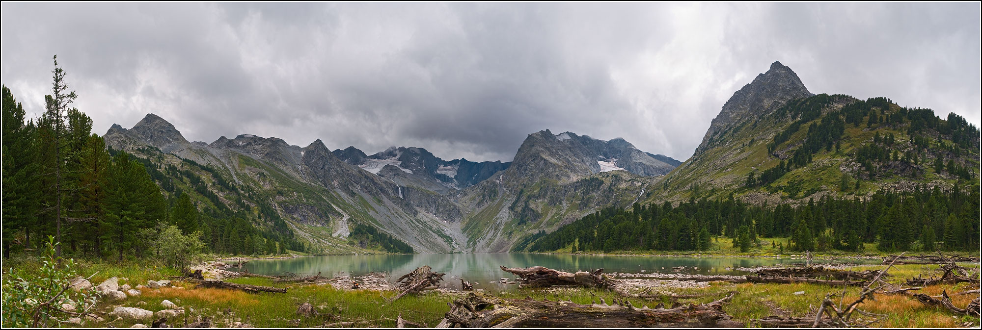озеро Верхне-Мультинское.