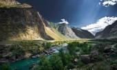 Бурная река Чулышман