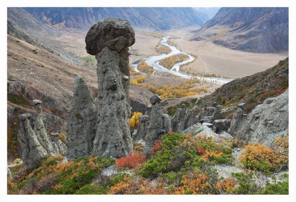 Каменные грибы Чулышмана
