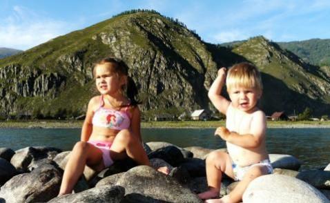 Отдых на Алтае летом с детьми